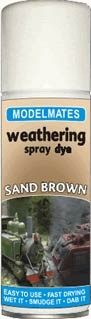 Sand Brown Weathering Spray