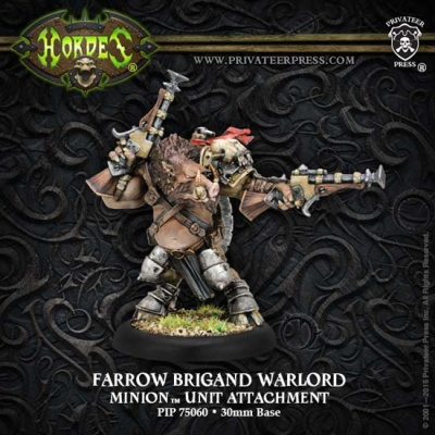 Minion Farrow Brigand Warlord Unit Attachment