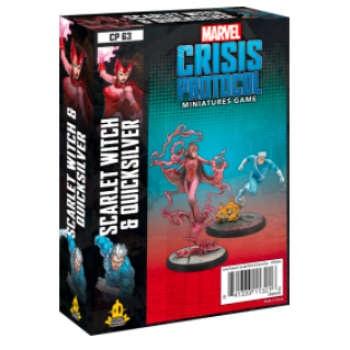 Marvel Crisis Protocol: Scarlet Witch & Quicksilver - EN