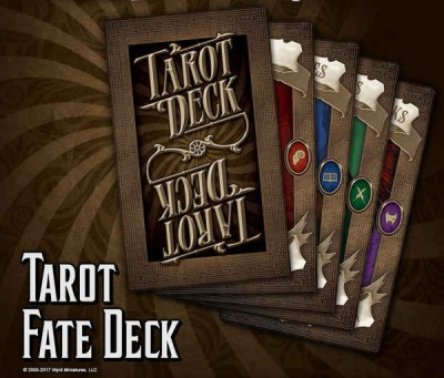 Through The Breach - Tarot Fate Deck
