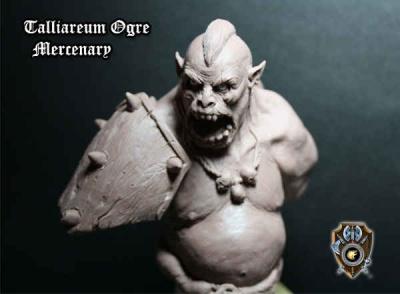 Talliareum Ogre Bust