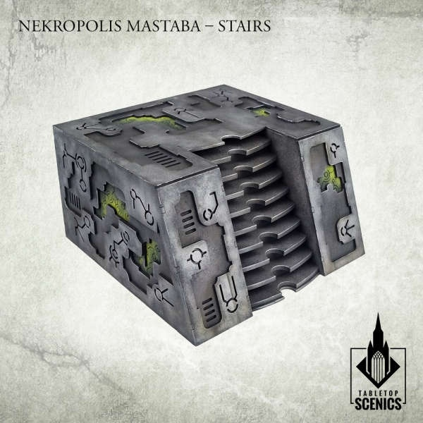 Nekropolis Mastaba - Stairs