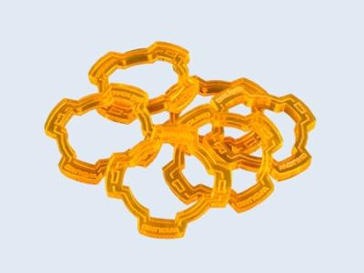 Wound Rings Orange (6) (OOP)