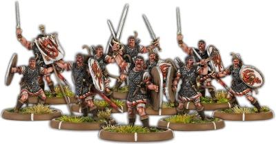 Warriors of Dyngonwy, Rhyfelwr Command Unit (10)