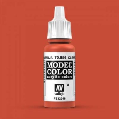 Model Color 025 Feuerrot (Clear Orange) (956)