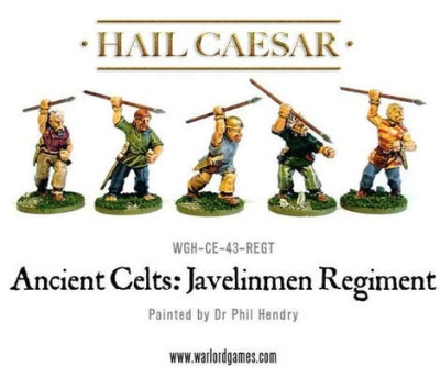 Ancient Celts: Javelinmen Regiment (16)