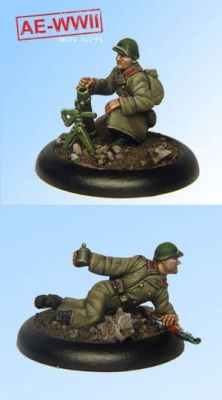 Soviet Guard 50-PM 40 Mortar Team (2)