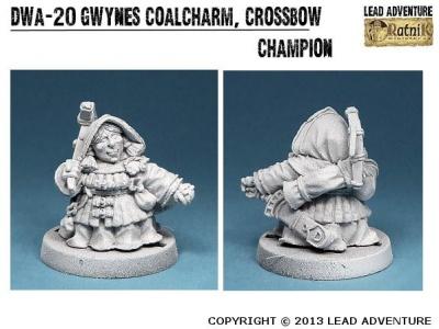 Gwynes Coalcharm, Crossbow Champion (1)