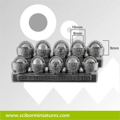 SF Roman Legionary Small Shoulder Pads (10)