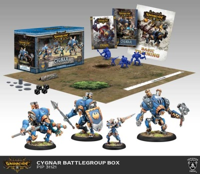 Cygnar Battlegroup Starter Box (plastic)