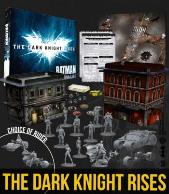 The Dark Knight Rises - Two Player Game Box