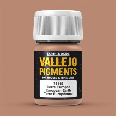 Vallejo Pigment European Earth 30ml