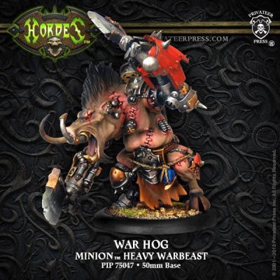 Minion War Hog Farrow Heavy Warbeast (plastic) Box