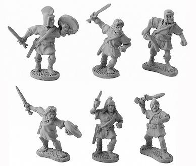 Caetrati with Swords (8 of 6 designs)