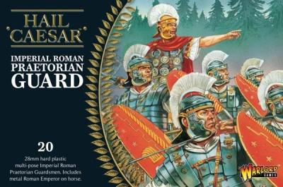 Imperial Roman Praetorians (20) + Emperor