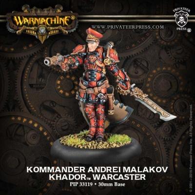 Khador Kommander Andrej Malakov