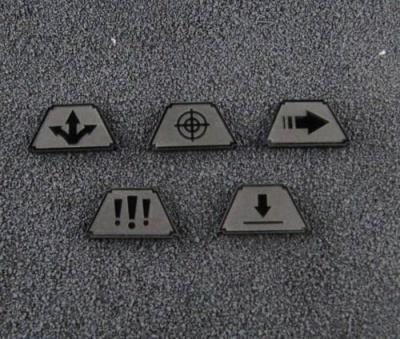 Infanterie Marker (schwarz)