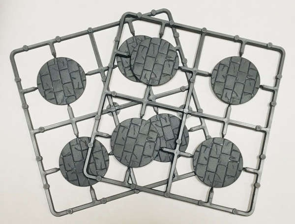 40mm Paved Effect Bases (8)