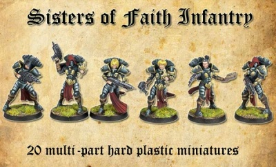 Sisters of Faith (hard plastic) (20)