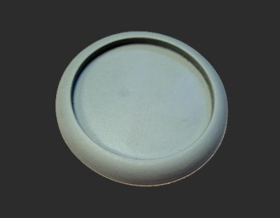 Scenic Bases: Round Lip 50mm Hollow Blank (1)
