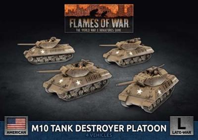 M10 3-Inch Tank Destroyer Platoon (x4 Plastic)