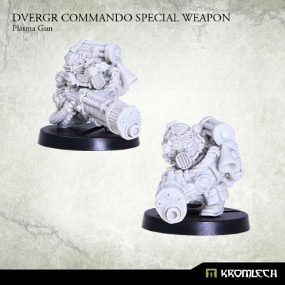 Dvergr Commando Special Weapon : Plasma Gun