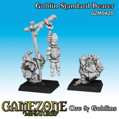 Goblin Standartenträger (2)