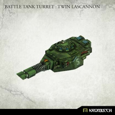 Battle Tank Turret : Twin Lascannon