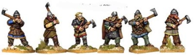 Hirdmen with 2 Handed Axes (6)