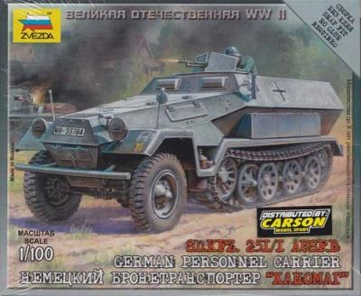 1:100 Wargame AddOn: SDKFZ 251/1 B