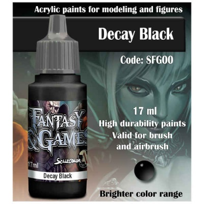 Scalecolor Fantasy 00 Decay Black (17ml)