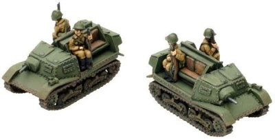T-20 Komsomoleyets (two models, Armoured Tractor Detachment)