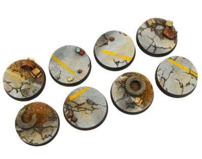 Highway Bases, 32mm Round (4)