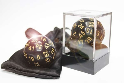 Dice-Up D50 Black/Gold