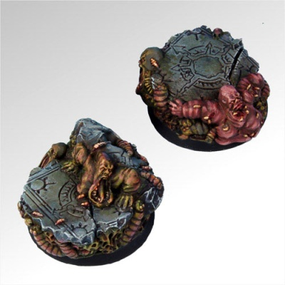 Rot and Grubs 40 mm round bases set1