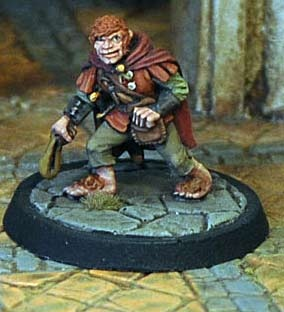 Halfling Thief, with sling