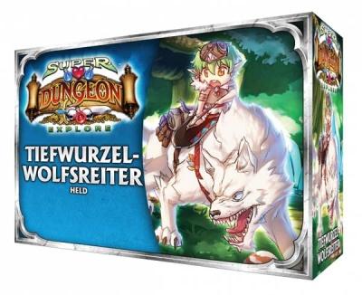 Super Dungeon Explore - DVK - Tiefwurzel-Wolfsreiterin