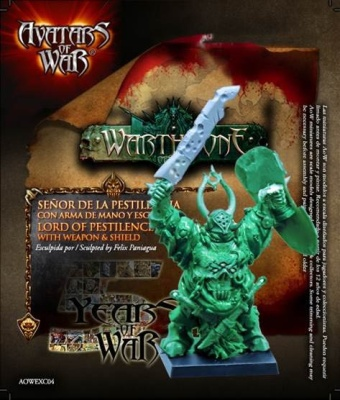 Lord of Pestilence with weapon & shield - limitiert