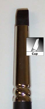 Clay Shaper, Cup Chisel Size 0 (1)