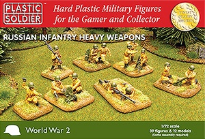 1/72: Russian Infantry Heavy Weapons