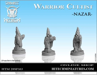 28mm  Warrior Cultist Nazar