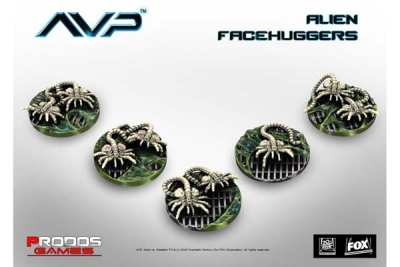 Alien Facehuggers