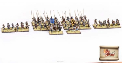 Old type mercenary infantry regiment