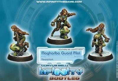 Infinity Bootleg! Maghariba Guard Pilot (HQ)