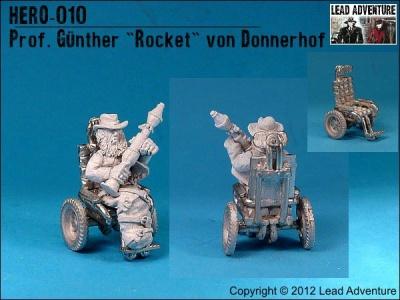 """Prof. Günther """"Rocket"""" von Donnerhof (1)"""