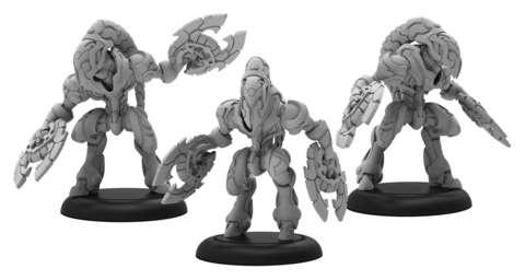 Saber Vanguard - Warcaster Empyrean Squad (metal)