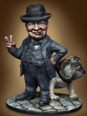 Caricature: Winston (1)
