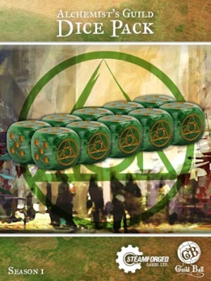 Guild Ball Alchemist Dice x10