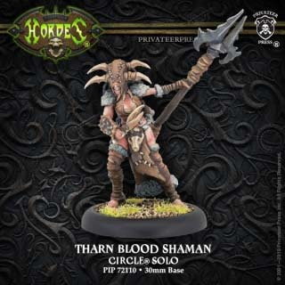Tharn Blood Shaman - Circle of Orboros Warcaster Attachment
