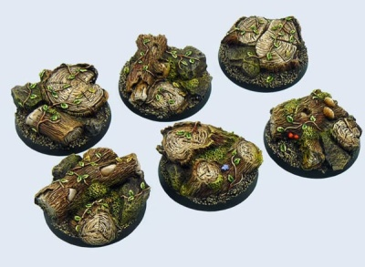 Forest Bases Round 40mm (2)